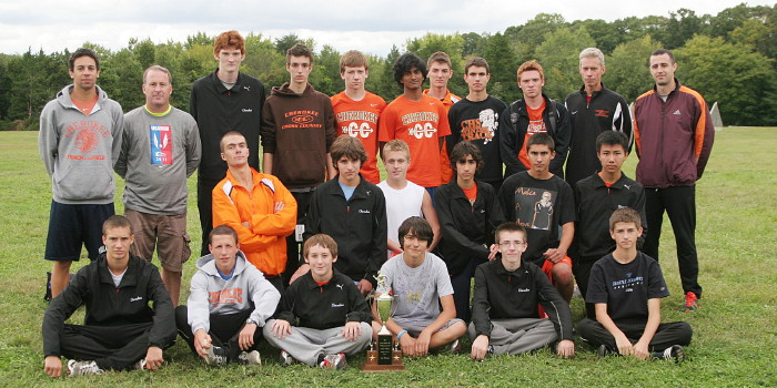 Cross Country Team, 2011