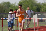 Mike Brocco in the 400IH