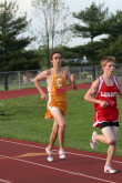 Marc Saccomanno in the 5K