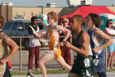 Kevin Schickling in the 1600m