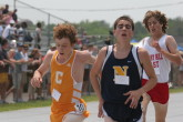 Chris Applegate battles at the finish of the 3200m